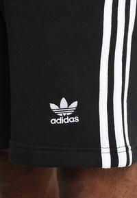 adidas Originals - 3-STRIPE - Träningsbyxor - black - 5
