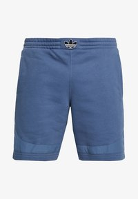 adidas Originals - OUTLINE TREFOIL REGULAR SHORTS - Verryttelyhousut - tech ink - 4