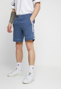 adidas Originals - OUTLINE TREFOIL REGULAR SHORTS - Pantalon de survêtement - tech ink - 0