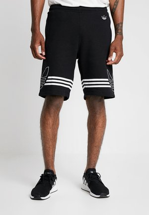 OUTLINE TREFOIL REGULAR SHORTS - Jogginghose - black