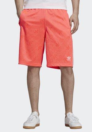 MONOGRAM SHORTS - Shorts - orange