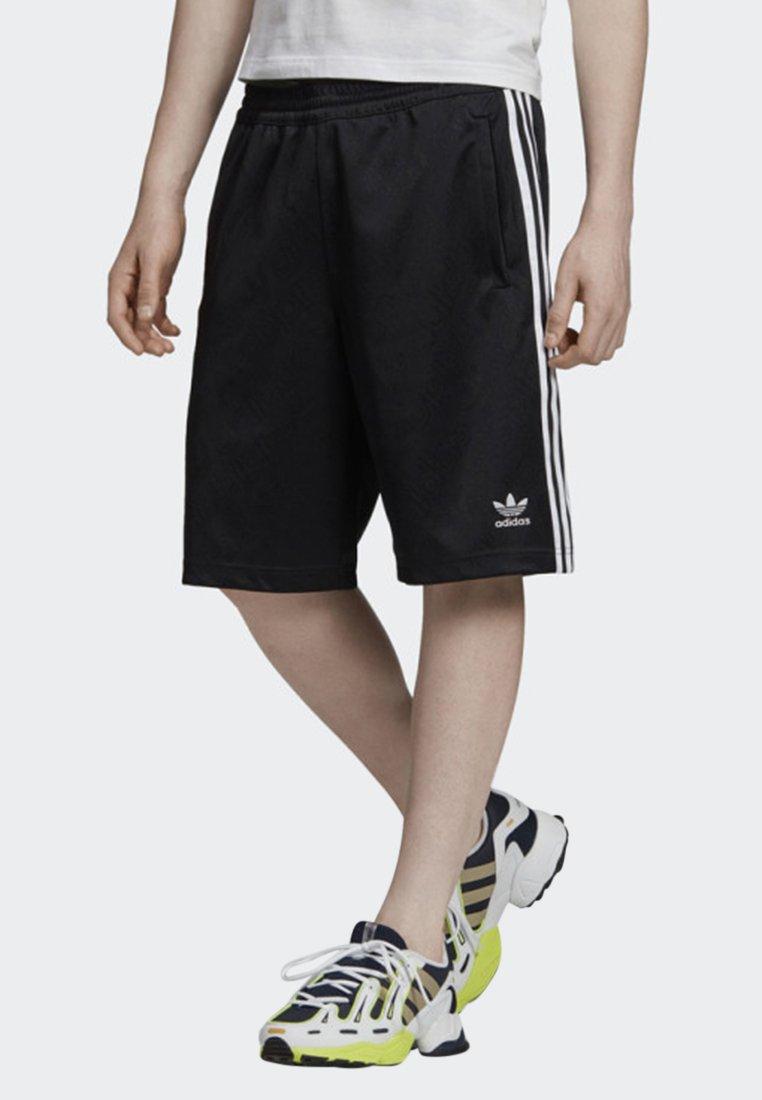 adidas Originals - MONOGRAM SHORTS - Shorts - black