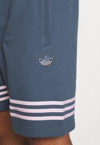 adidas Originals - OUTLINE  - Szorty - dark blue - 4