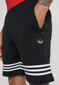 adidas Originals - OUTLINE  - Short - black - 4