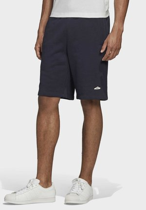 EMBROIDERED SHORTS - Shorts - blue
