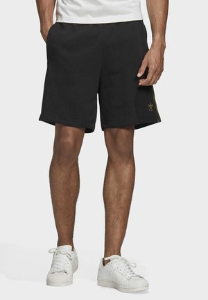 CAMOUFLAGE SHORTS - Szorty - black