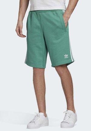 STRIPES SHORTS - Shorts - turquoise