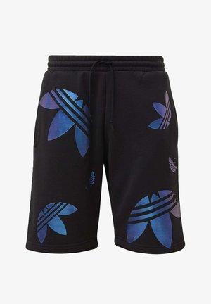 ZENO BIG TREFOIL SHORTS - Short - black