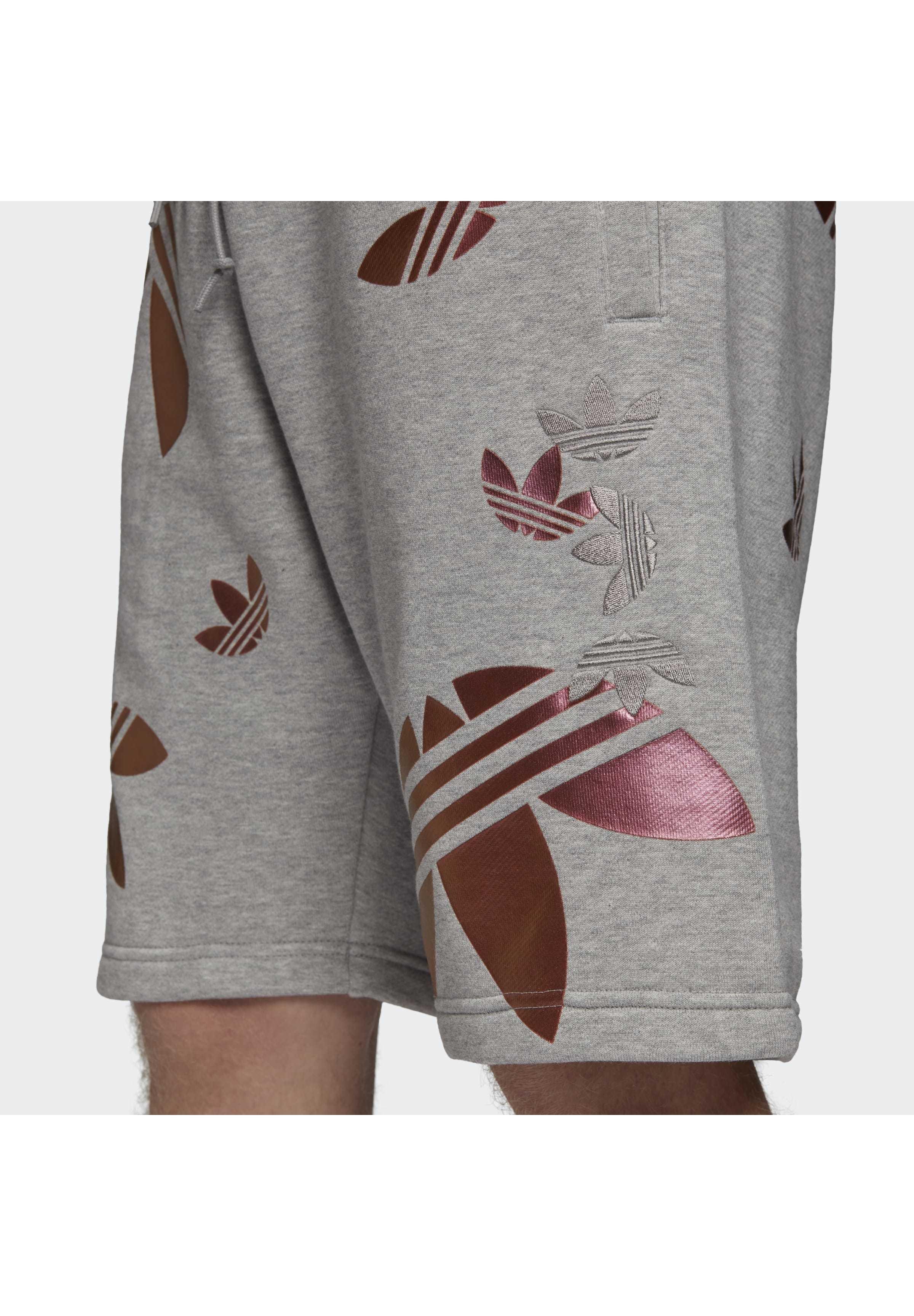 adidas Originals ZENO BIG TREFOIL SHORTS - Szorty - grey