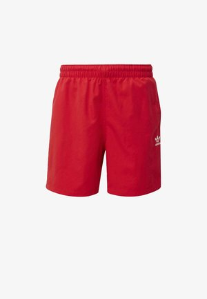 STRIPES SWIM SHORTS - Short - red