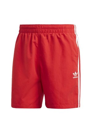 STRIPES SWIM SHORTS - Shorts - red