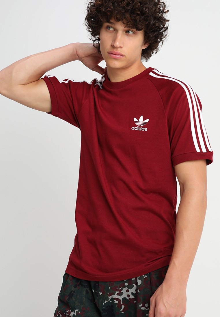 adidas Originals - ADICOLOR 3STRIPES SHORT SLEEVE TEE - T-shirt imprimé - cburgu