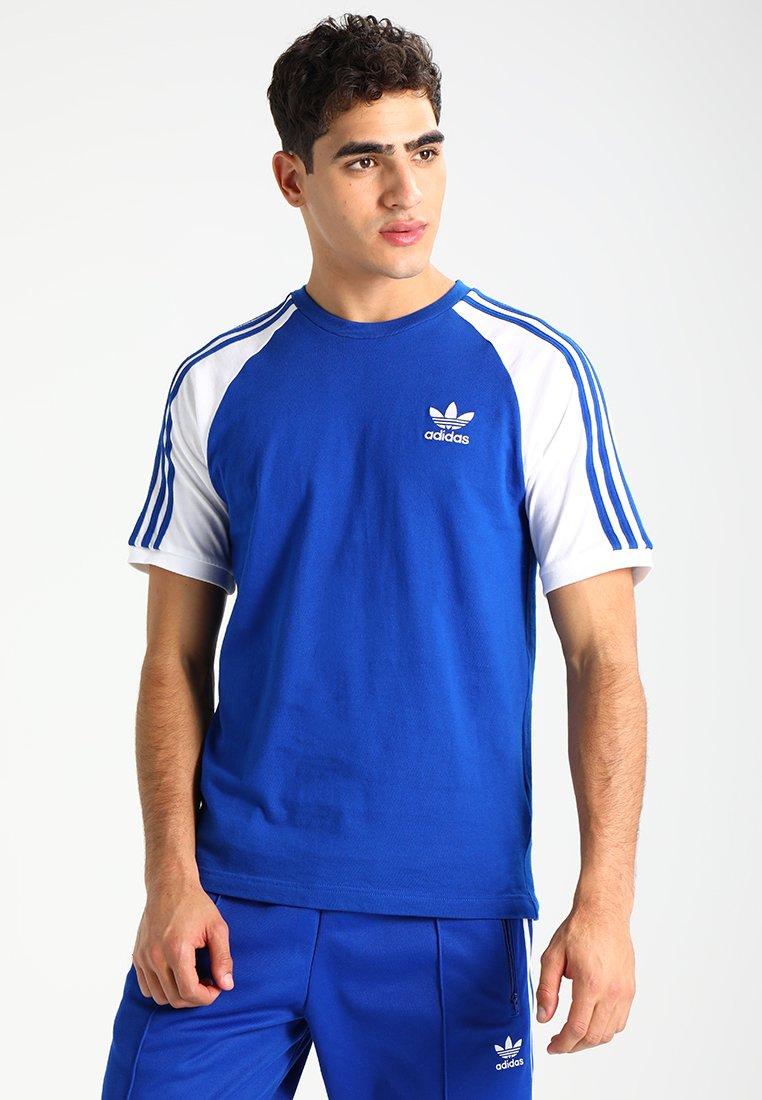 adidas Originals - 3-STRIPES TEE - T-shirt con stampa - royal blue
