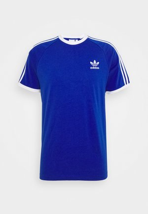 ADICOLOR 3STRIPES SHORT SLEEVE TEE - T-shirt imprimé - royblu