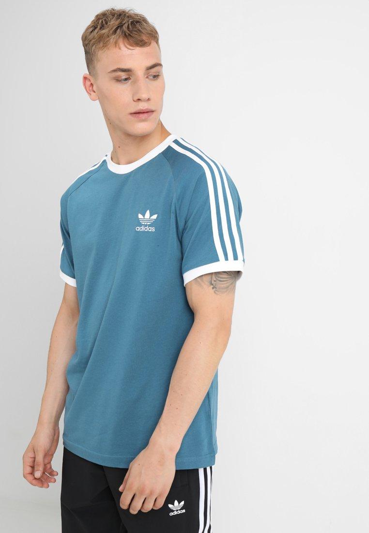 adidas Originals - 3-STRIPES TEE - T-shirt con stampa - blablu