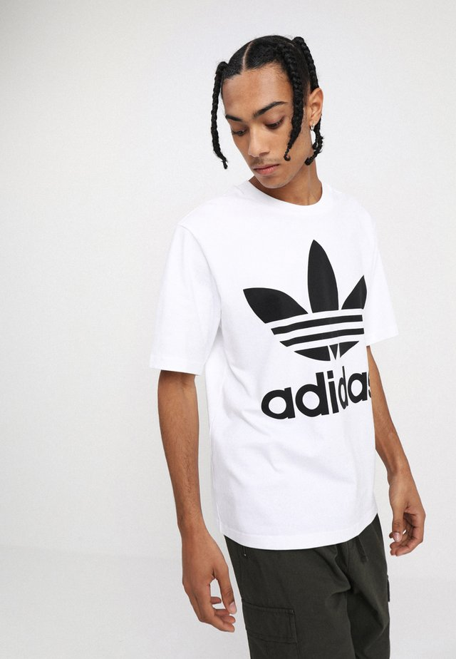 OVERSIZED TEE - T-shirt con stampa - white
