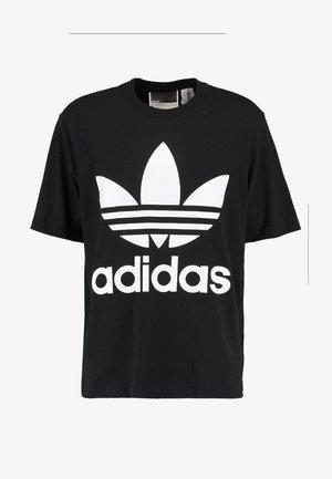 OVERSIZED TEE - Camiseta estampada - black
