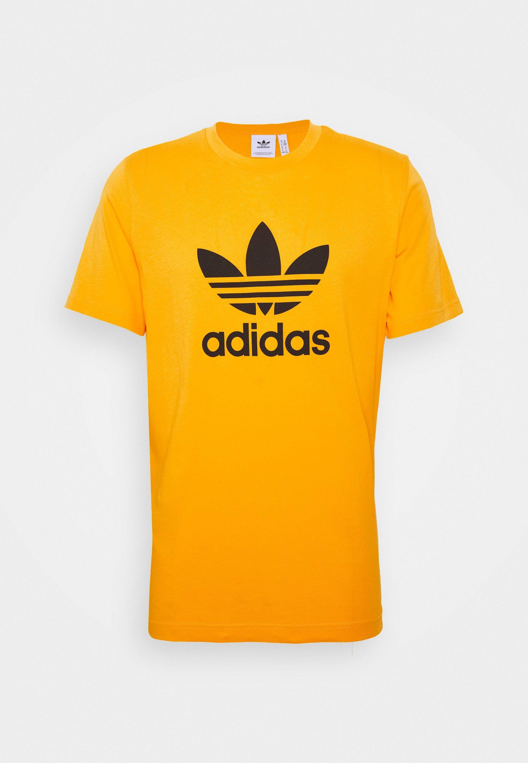 adidas Originals TREFOIL T shirt imprimé actgol ZALANDO.FR