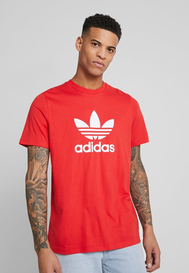 TREFOIL  - T-shirt con stampa - lush red
