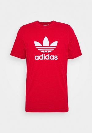 TREFOIL UNISEX - T-shirt z nadrukiem - scarle