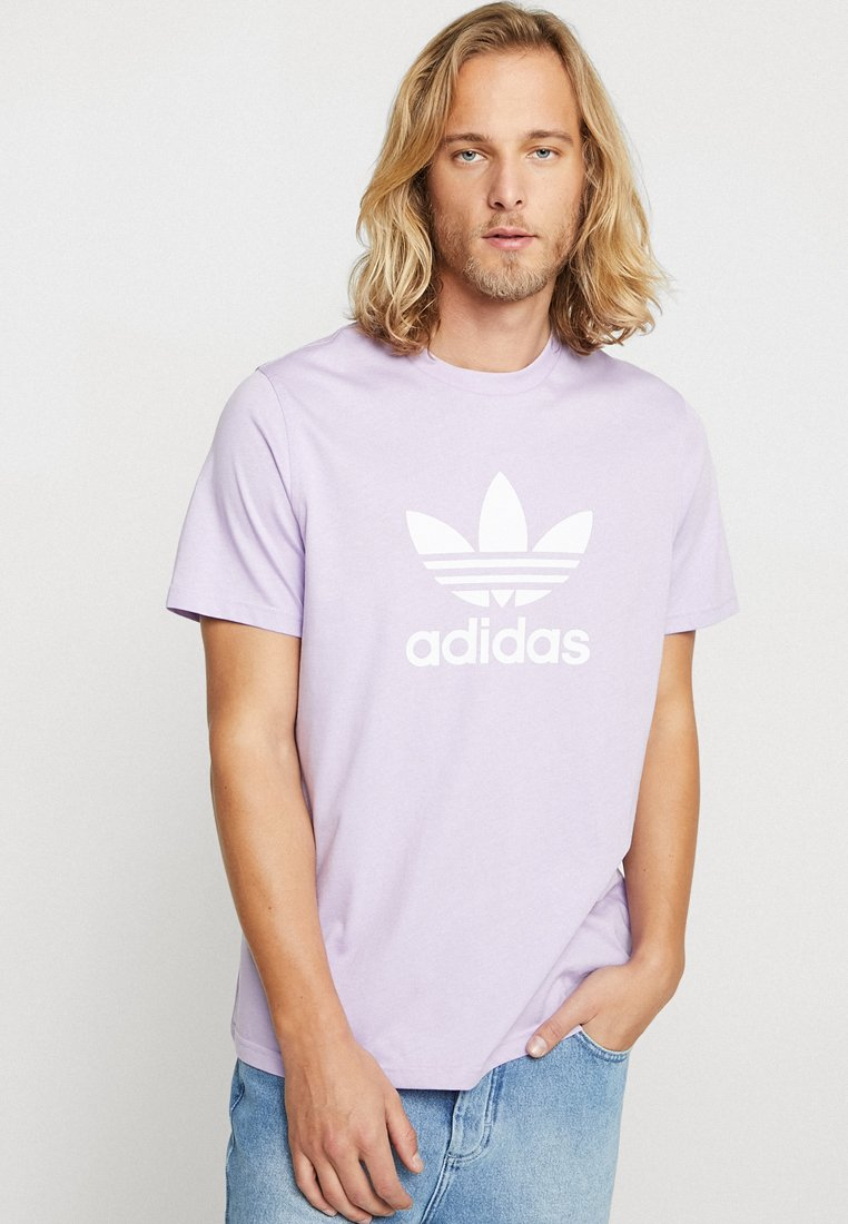 adidas Originals - TREFOIL - Print T-shirt - purglo