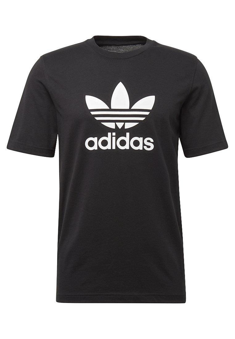 adidas Originals TREFOIL T shirt print black Zalando.nl