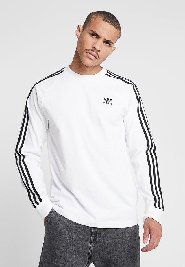 3 STRIPES UNISEX - Maglietta a manica lunga - white