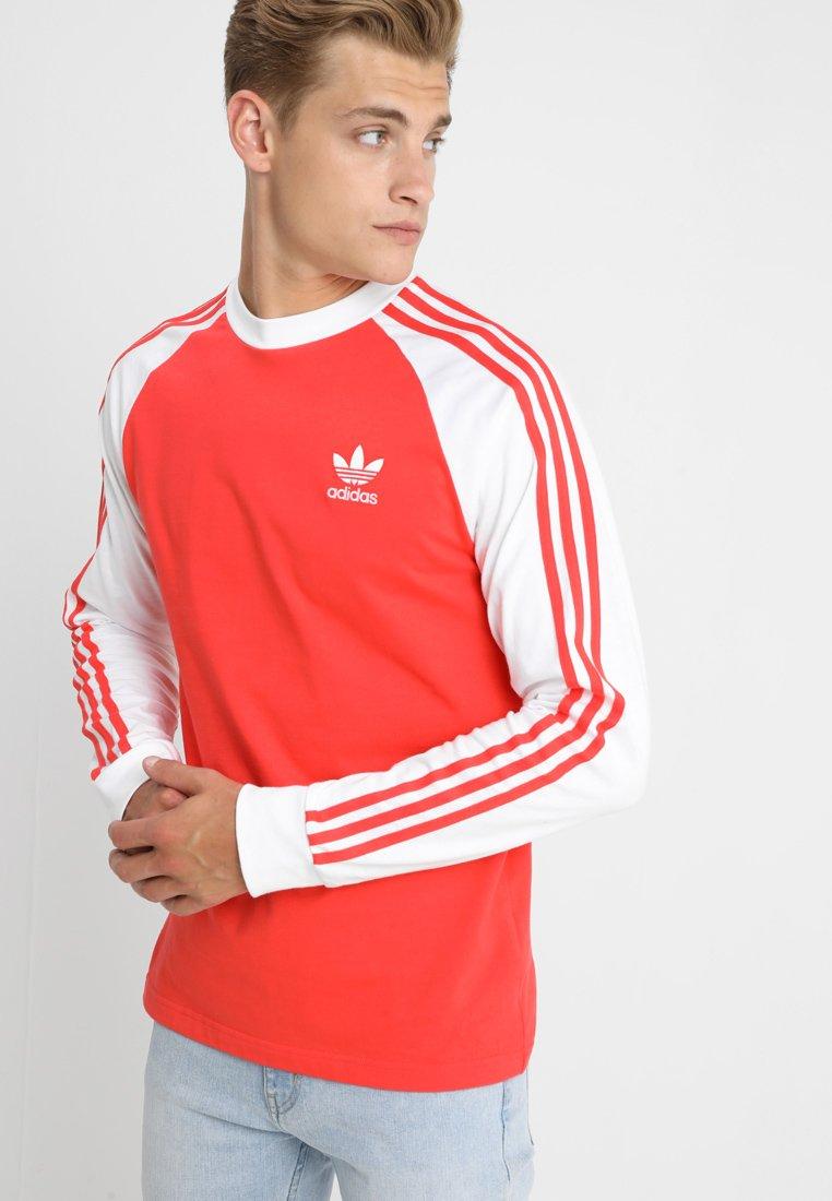 adidas Originals - ADICOLOR 3 STRIPES LONGSLEEVE TEE - Langarmshirt - brired