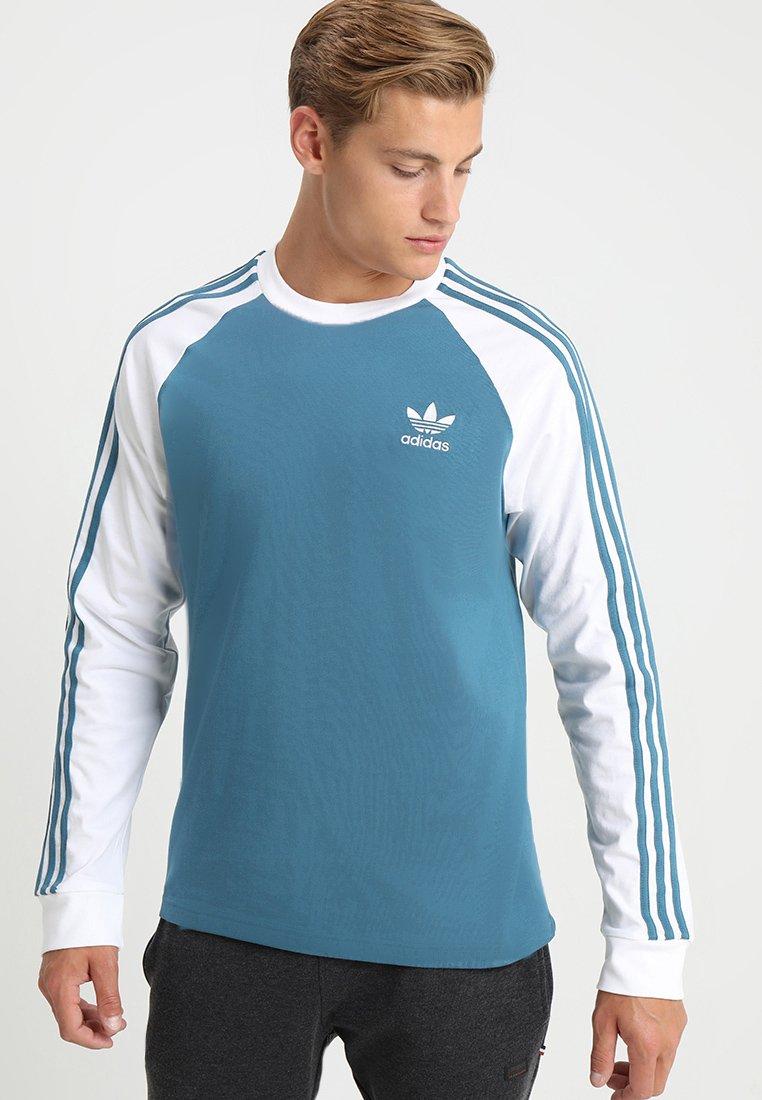 adidas Originals - ADICOLOR 3 STRIPES LONGSLEEVE TEE - Långärmad tröja - blablu