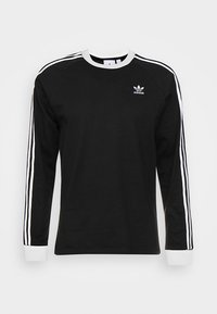 adidas Originals - 3-STRIPES - Topper langermet - black - 4