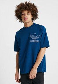 adidas Originals - OUTLINE TEE - T-shirt imprimé - legmar - 0