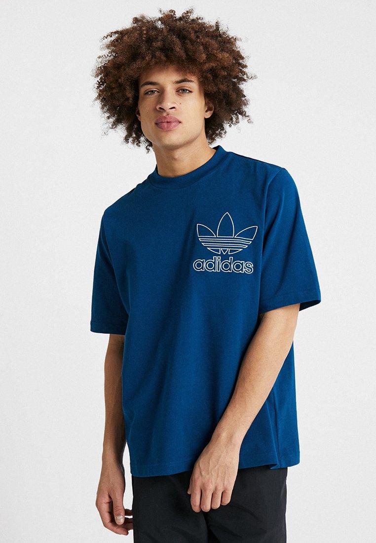 adidas Originals - OUTLINE TEE - T-shirt imprimé - legmar