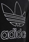 adidas Originals - OUTLINE TEE - T-shirt imprimé - black