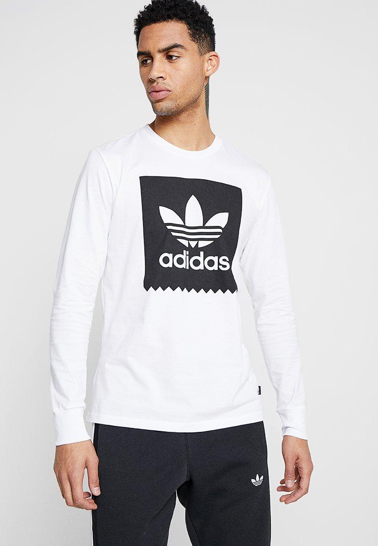 adidas Originals - TEE - Longsleeve - white/black