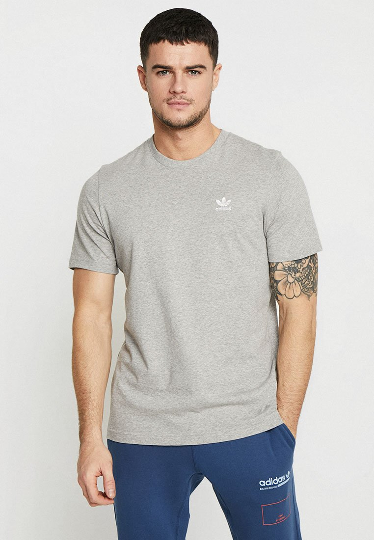 adidas Originals - ADICOLOR ESSENTIAL TEE - T-shirt print - grey