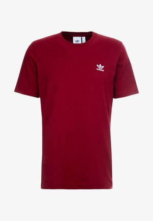 ADICOLOR ESSENTIAL TEE - Print T-shirt - burgundy