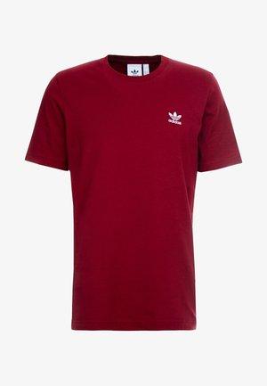 ADICOLOR ESSENTIAL TEE - T-shirt med print - burgundy