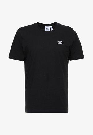 ADICOLOR ESSENTIAL TEE - Print T-shirt - black
