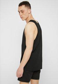 adidas Originals - TREFOIL TANK - Top - black - 2