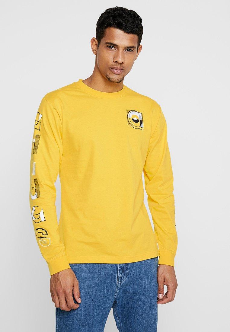 adidas Originals - GRAPHIC TEE - Langærmede T-shirts - gold