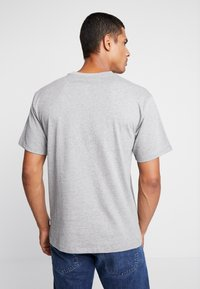 adidas Originals - SOLID - T-Shirt print - mottled grey/green - 2