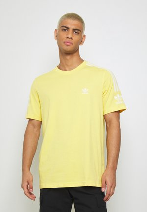 TECH TEE - T-shirt con stampa - yellow