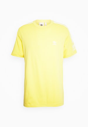 TECH TEE - Print T-shirt - yellow