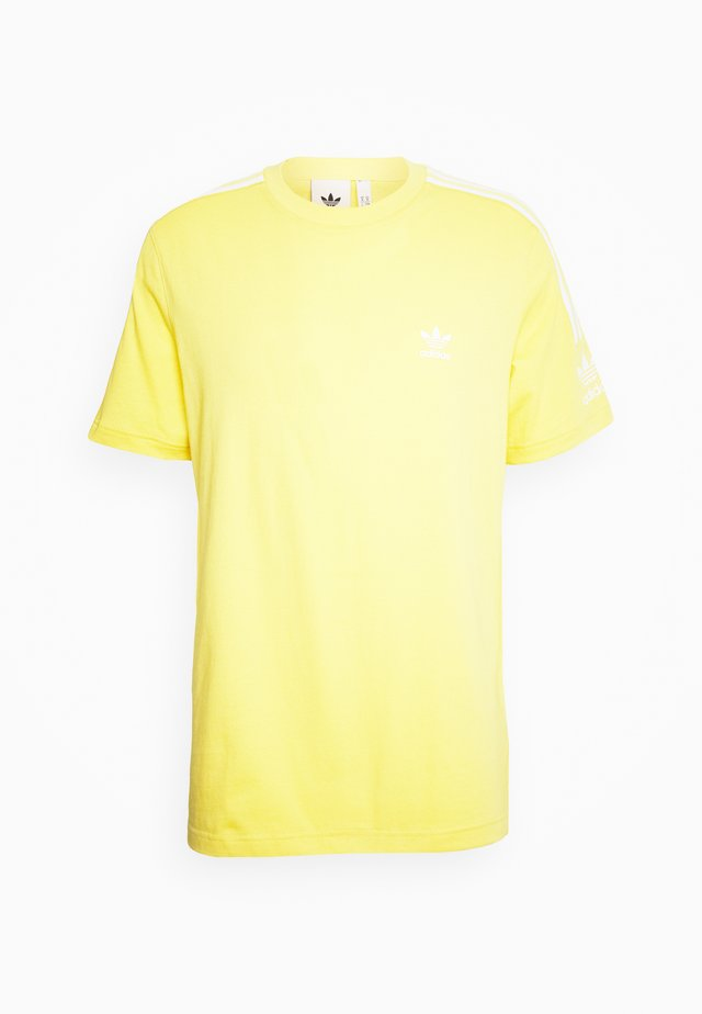 TECH TEE - T-shirt print - yellow