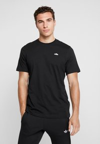 adidas Originals - MINI TEE - T-shirt print - black - 0