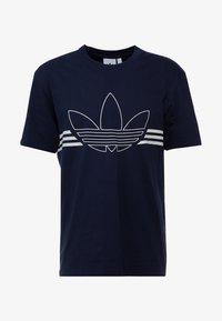 adidas Originals - OUTLIN TEE - Camiseta estampada - legend ink - 3