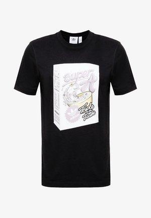BODEGA SUPER A POP ART GRAPHIC TEE - Printtipaita - black