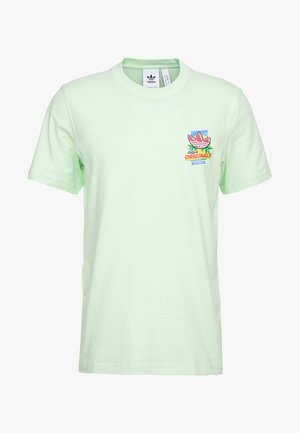 BODEGA POPSICLE - Print T-shirt - glow green