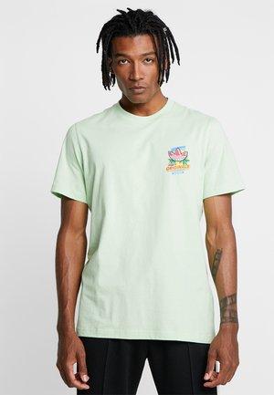 BODEGA POPSICLE - T-shirt print - glow green