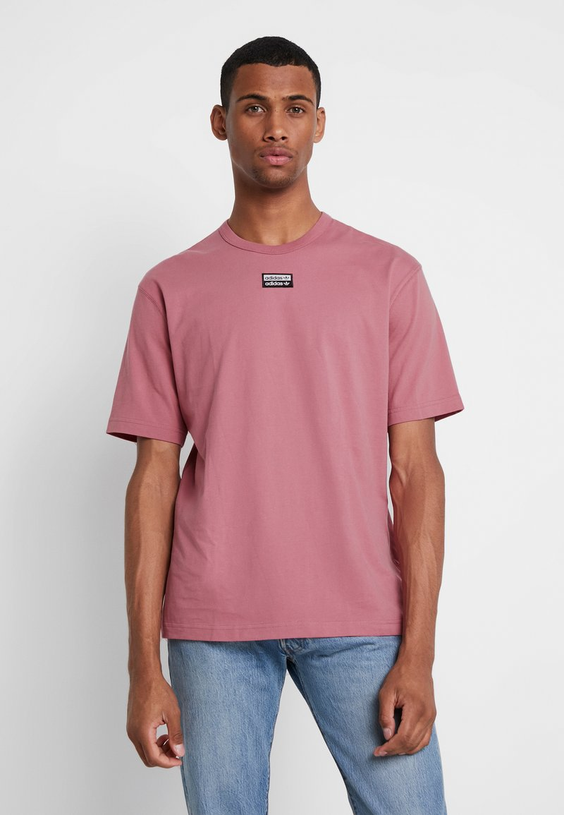 adidas Originals - REVEAL YOUR VOICE TEE - T-Shirt basic - trace maroon